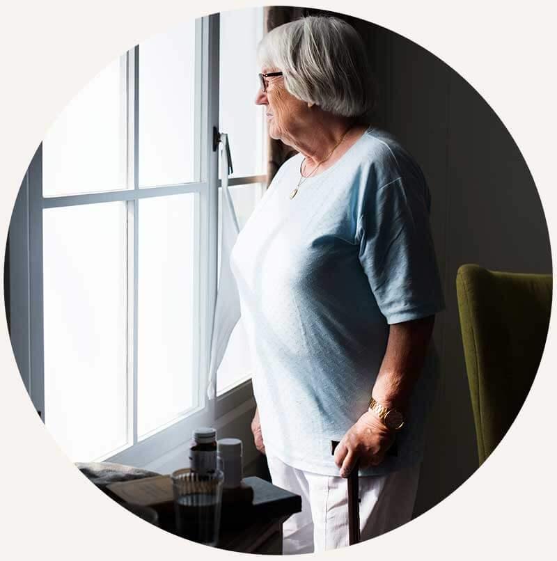 solitude des personnes âgées en Belgique
